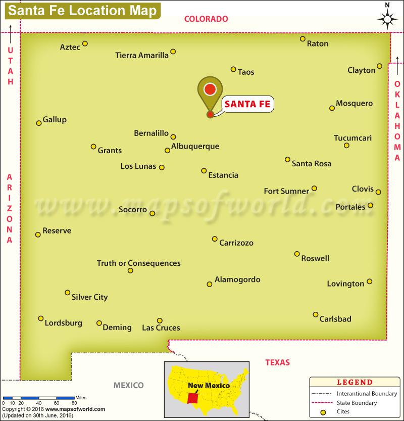 Where is Santa Fe, New Mexico