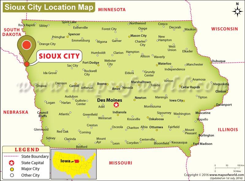 Where is Sioux City, Iowa