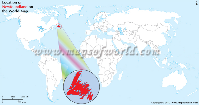 Where Is Newfoundland Location On Newfoundland - Canada map location