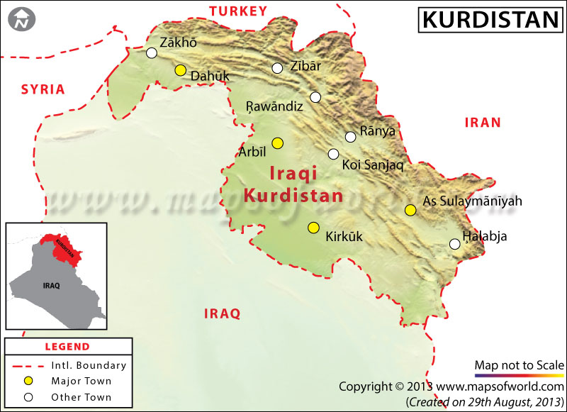 Map kurdistan map sciox Image collections