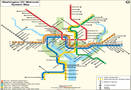Washington DC Metro Map