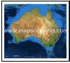 Australia Satellite Map