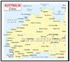 Australia Cities Map