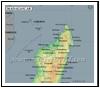 Madagascar Lat Long Map