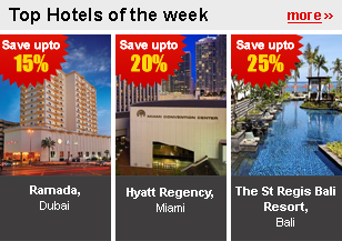 Top Hotels of the week