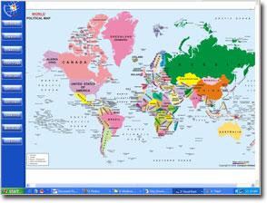 Jamaica On Map Of World.Mapsofworld Cd Newsletter