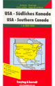 USA � Southern Canada Map: Freytag & Berndt