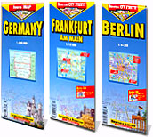 Get a free tour of Germany and save US $ 2 on the purchase of Germany, Berlin and Frankfurt maps.