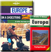 Europe Pocket Book worth $ 10 free with purchase of Lonely Planet's �Europe on a Shoestring'