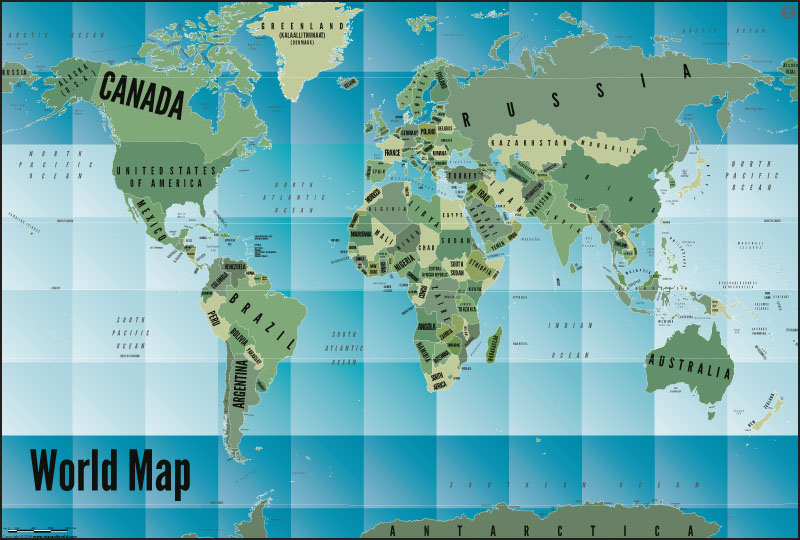 World map poster by mapsofworld world map art gradient poster gumiabroncs Images