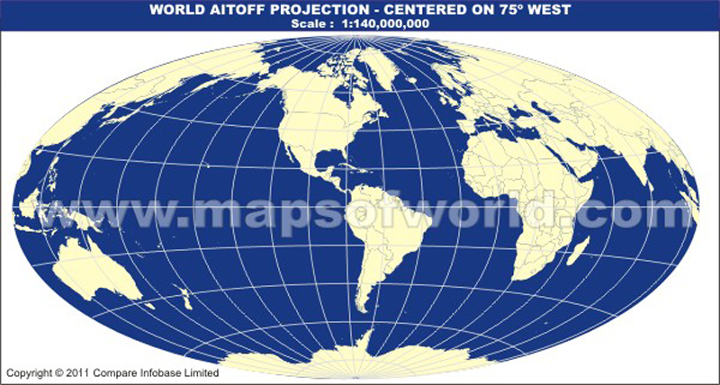 America centric world map in aitoff projection gumiabroncs Image collections