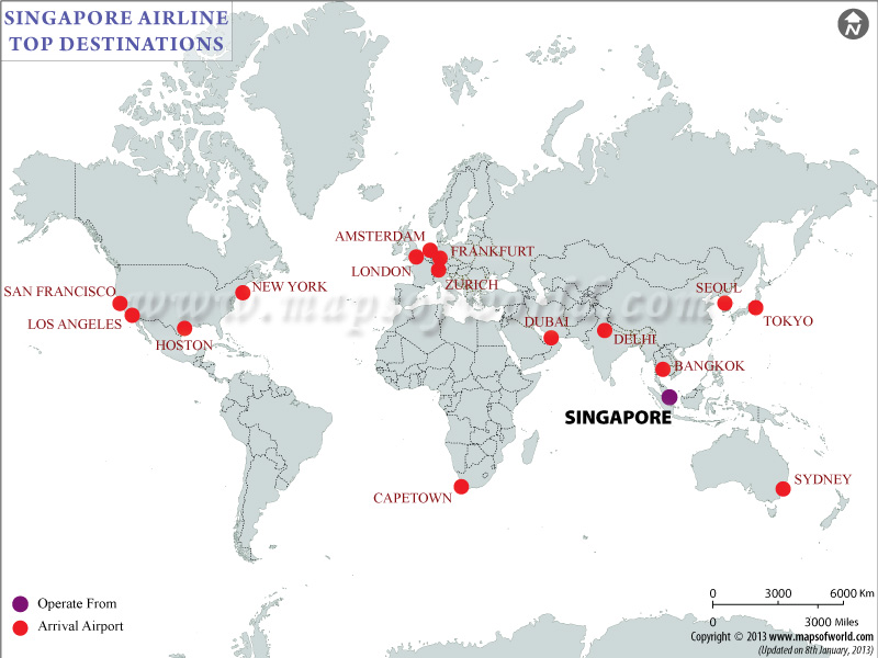 Singapore Airlines Flight Schedules | Singapore Airlines Flight Status