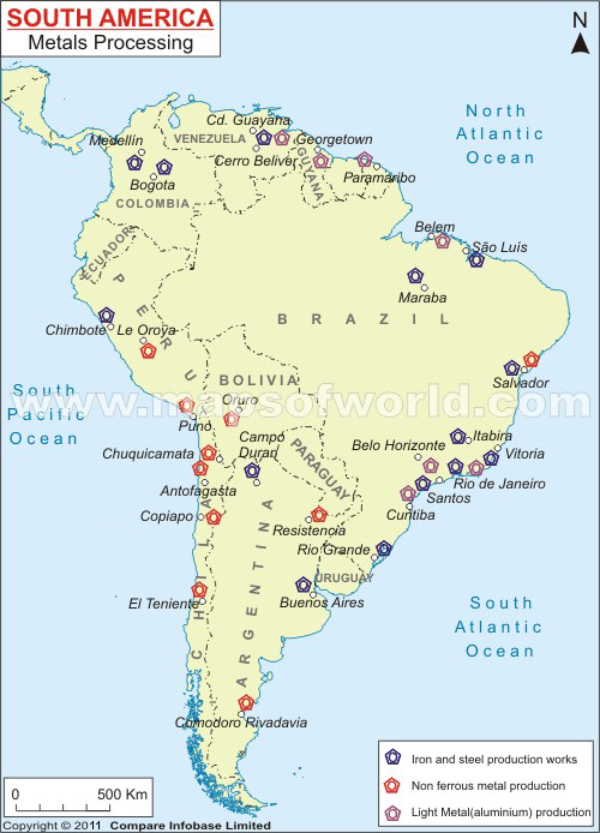 South America Metals Processing