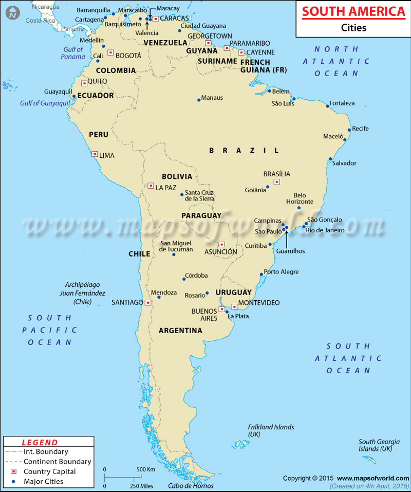 South American Cities In America