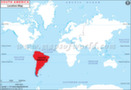 Where is south america