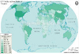 GDP(PPP) Map of the World