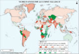 World Current Account Balance Map