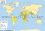 World Illiteracy Map