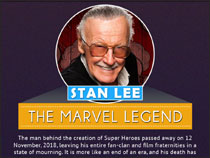Why was Stan Lee known as �The Marvel Legend�?