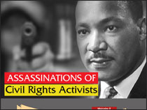 What Major Civil Rights Activists were Assassinated?