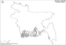 Bangladesh Outline Map