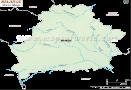 Belarus River Map