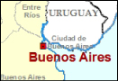 Buenos Aires Location Map