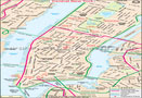 Central New York City Map