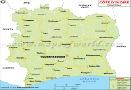 Cote d'Ivoire Road Map