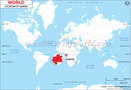 Location Map of Gabon