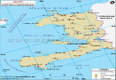 Haiti Lat Long Map