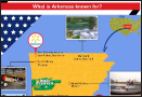 What is Arkansas known for?