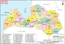Latvia Map