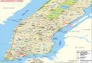 Manhattan Map, NYC