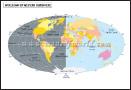 World Hemisphere Maps