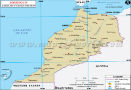 Morocco Lat Long Map