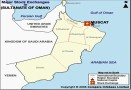 Oman Stock Exchange Map