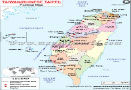 Political Map of Taiwan