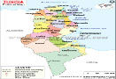 Political Map of Tunisia