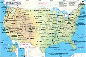 Thumbnail of USA Map