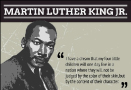 Infographic on Martin Luther King Jr
