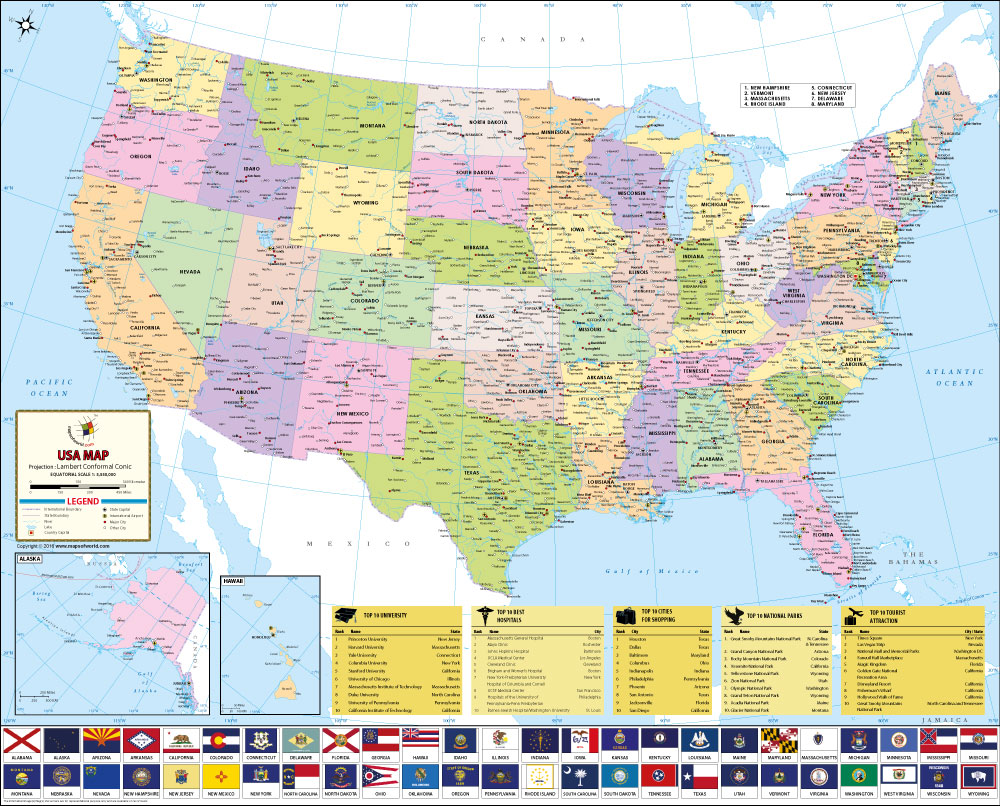 US Map 2017
