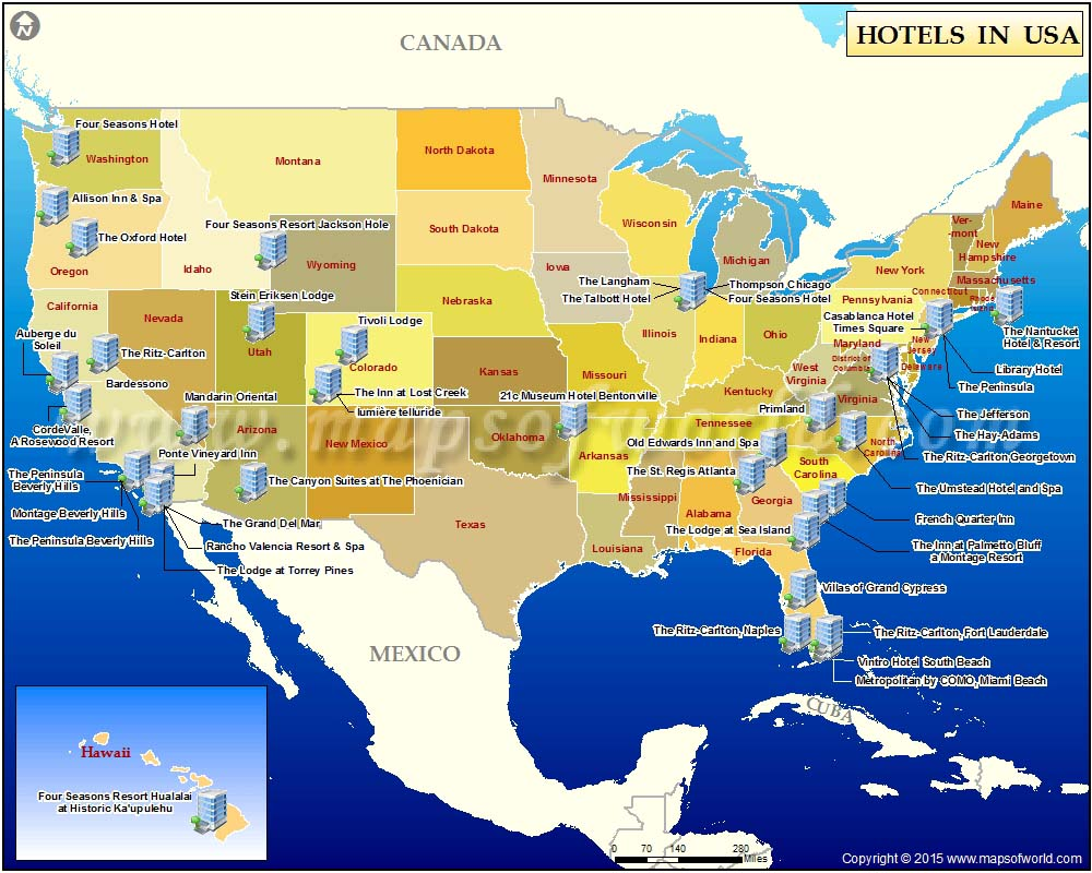 Hotels in USA