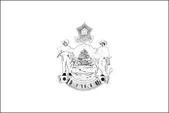 Flag of maine maine flag for Maine flag coloring page