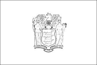 New jersey flag flag of new jersey state for New york flag coloring page
