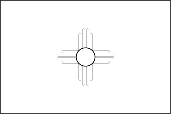 Blank New Mexico Flag Download