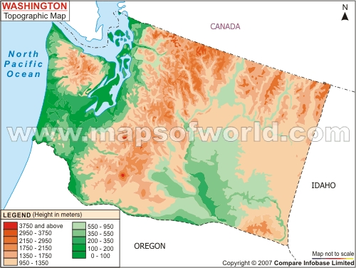 Washington topo mapg sciox Choice Image