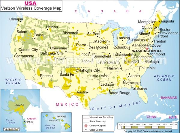 Verizon Wireless Coverage