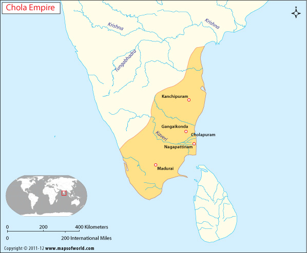 Chola empire map chola dynasty of india gumiabroncs Images