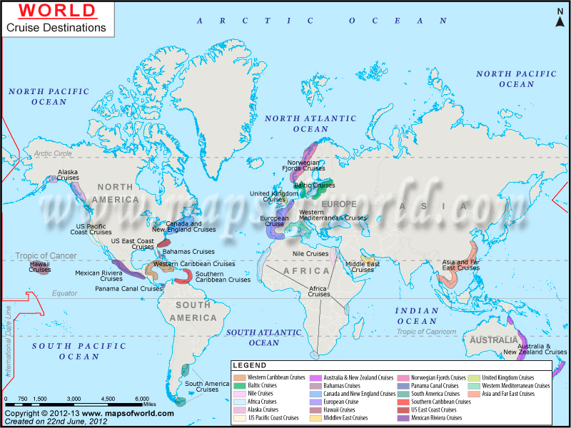 World Cruise Destinations